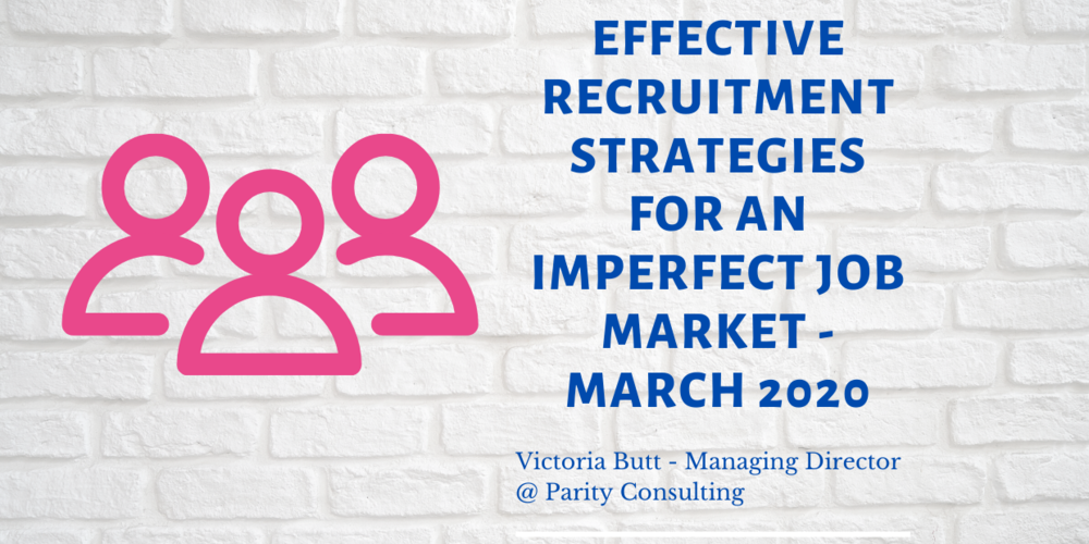Effective recruitment strategies for an imperfect job market - Event Takeaways