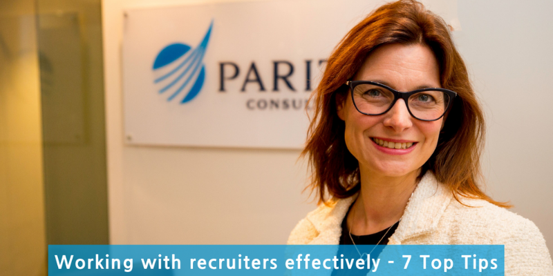 Working with recruiters effectively - 7 Top Tips